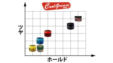 【完全版】クールグリース6種まとめ!ツヤ・ホールド力・匂いの違い比較